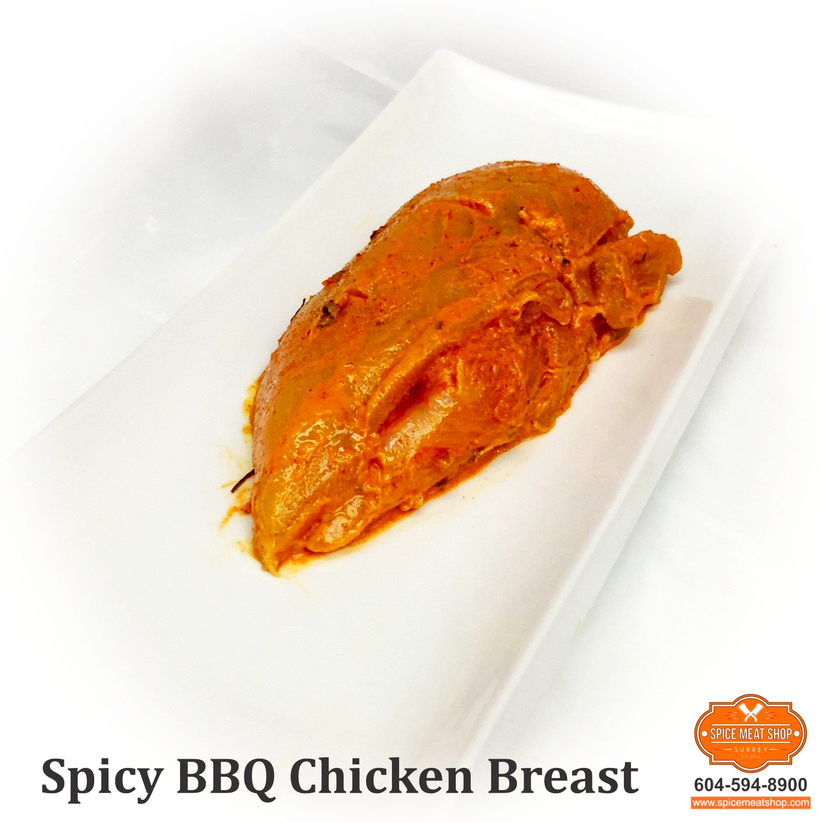 Spicy BBQ Chicken Breast
