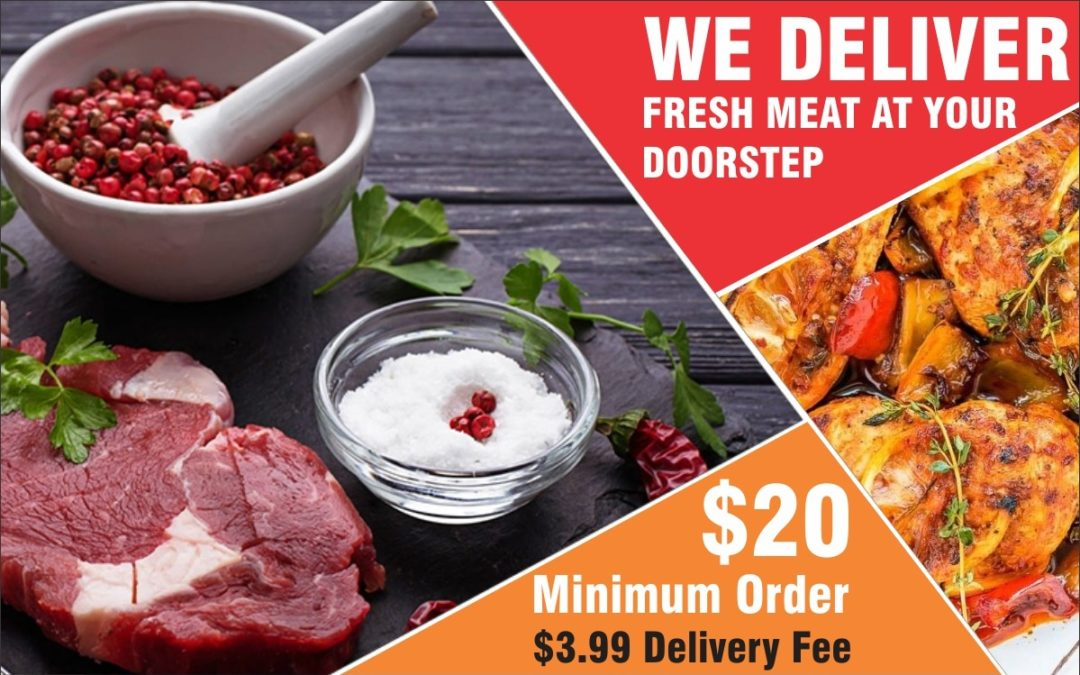 We Deliver Fresh Meat – Raw or Cooked