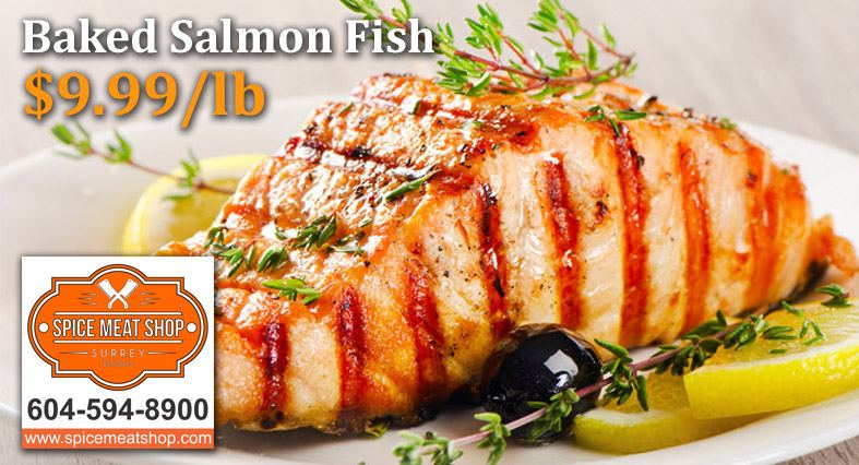 Baked Salmon Fish