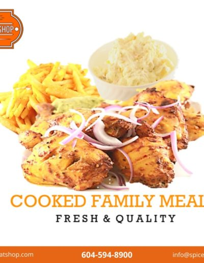 Cooked Family Meals