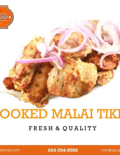 Cooked Malai Tikka