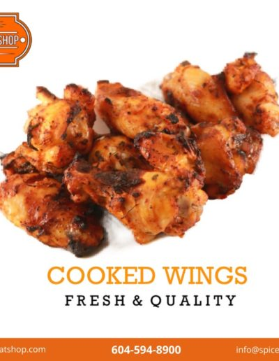 Cooked Wings