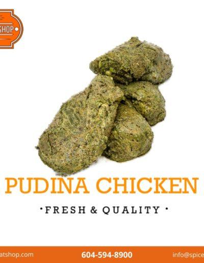 Pudina Chicken